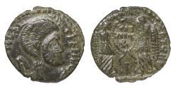 World Coins - Barbaric MAGNENTIUS IV° sec. AD Imitation centennionalis Rare XF