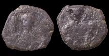 Ancient Coins - John II Comnenus. 1118-1143 AD. AE Half Tetarteron. Thessalonica mint