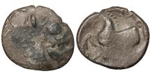 Ancient Coins - EASTERN CELTS. 3rd-2nd century BC. Tetradrachm. Imitation of Philip II \ Celtic coin