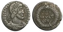 Ancient Coins - Julian II. 360-363 AD. AR Siliqua.  VF+