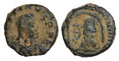 Ancient Coins - Justin I AD 518-527 Pentanummium VF+
