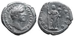 Ancient Coins - Antoninus Pius. Denarius. 140-143 AD. Rome. \ Concordia \ VF