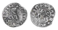 World Coins - REPUBLIC OF VENICE. GIOVANNI DOLFIN 1356-1361 AD. SOLDINO. XF