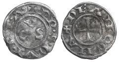 World Coins - Italy Ancona Autonomous Republic 1250 AD Denar aXF