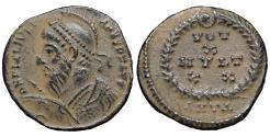 Ancient Coins - Julian II AE3. 361-363 AD. Antioch.  Scarce. XF