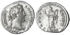 Ancient Coins - Antoninus Pius (138-161). Denarius. Rome. XF\UNC