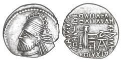 Ancient Coins - PARTHIAN KINGDOM Pacorus I AD 78-120 AR drachm XF\UNC
