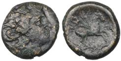 Ancient Coins - Macedon, Thessalonica Æ20. Circa 187-31 BC. Bronze