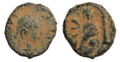Ancient Coins - Justin I 518-527 Pentanummium VF \ Byzantine Coins