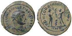 Ancient Coins - Diocletian AD 284-305 Antioch Radiatus VF\XF