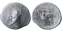 Ancient Coins - Parthian Kingdom. Gotarzes I. 95-90BC. AR drachm VF+. SCARCE