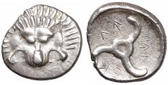 Ancient Coins - Dynasts of Lycia. Perikles 380-360 BC. 1/3 Stater. - XF\UNC \ greek coin