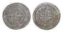 World Coins - Hungary. Bela III of Arpad (1172-1196), AE Follis with Kuphic Characters.