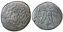 Ancient Coins - Amisos. Pontos. Bronze unit. 100 BC. \ VF Greek coin