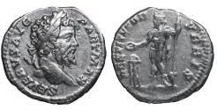 Ancient Coins - Septimius Severus Denarius Laodicea mint 198-202 RESTITVTOR aXF