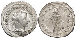 Ancient Coins - Gordian III 238-244 Antoninianus Rome mint AD 241-243 Hercules XF