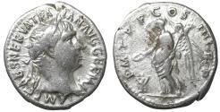 Ancient Coins - Trajan 98-117 AD Denarius Rome AD 101-102 XF \ Roman Coins