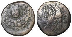 Ancient Coins - Amisos. Pontos. Bronze unit. 100 BC VF