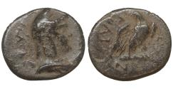 Ancient Coins - MACEDON Amphipolis 148-31 BC Chalkous Athena