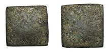 Ancient Coins - Roman empire. Bronze weight. Late 3rd century. 5,1 gr. – 16x15 mm