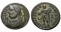 Ancient Coins - Licinius I. AE follis. Alexandria, AD 314. IOVI CONSERVATORI RARE. MINT STATE