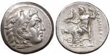 "Ancient Coins - Macedon. Lampsakos. Alexander III ""the Great"" 336-323 BC. Drachm. \ XF \ roman coin"