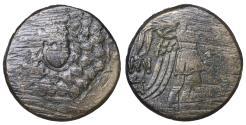 Ancient Coins - Amisos Pontos Bronze unit 100 BC VF
