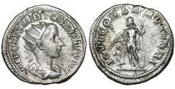 Ancient Coins - Gordian III 238-244 AD Silver Antoninianus VF\XF  \ Jupiter