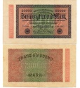 World Coins - GERMANY 20000 MARCHI 1923