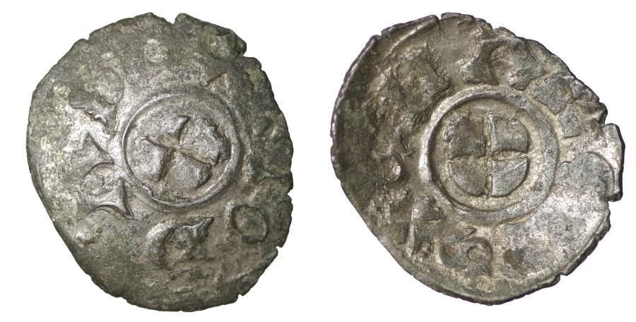World Coins - Venice Giovanni Dandolo 1280-1289 Schyphate Denar Rare VF\XF