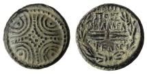 Ancient Coins - LYDIA. Philadelphia. Ae (Circa 100-14 BC). XF