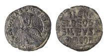 Ancient Coins - Leo VI the Wise 870 - 912 A.D. Bronze Follis. EF