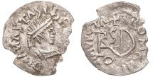 World Coins - Gepids. Theoderic the Great. In the name of Anastasius, 504 - 526. Half siliqua. \ Rare