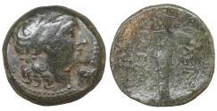 Ancient Coins - Seleukid King Seleukos I Nikator 312-281 BC Bronze VF+