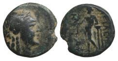 Ancient Coins - Seleukid Kingdom Antiochos Hierax 242-227 BC  VF\XF