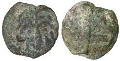 Ancient Coins - Antonius Felix. 52-59 B.C. Æ prutah. aVF \ Biblical coin