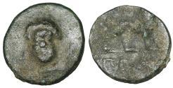 Ancient Coins - IONIA. Miletos. 259-246 BC. Bronze. VF Apollo  \  Lion