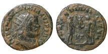 Maximianus AE Antoninianus. Siscia mint. 285-286 AD. VF