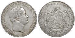World Coins - Germany. Prussia. Friedrich Wilhelm IV. 1797-1840. Double Taler 1844 A, Berlin XF