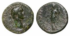 Ancient Coins - Domitian 81-96 AD AE Dupondius  VF+ FORTVNA