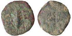 Ancient Coins - Porcius Festus. 59-62 C.E. Æ prutah. VF+