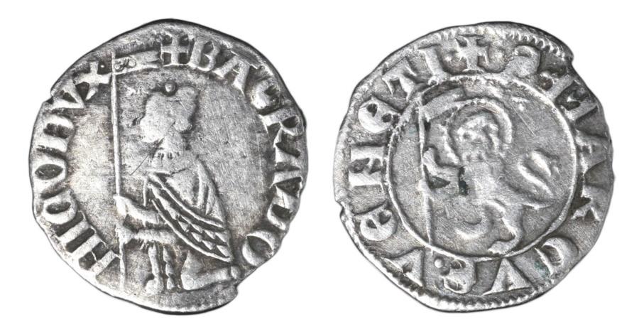 World Coins - REPUBLIC OF VENICE. BARTOLOMEO GRADENIGO. 1339 - 1342 AD. SOLDINO RARE