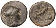 Ancient Coins - Phrygia. Apameia. 133-48 BC. AE21. \ Rare. aUNC