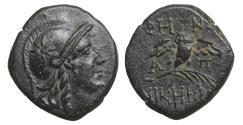 Ancient Coins - MYSIA Pergamon 200-133 BC Bronze  XF+ \ Greek Coins