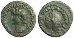 Ancient Coins - Tiberius. 14-37 AD. As Rare. VF\XF