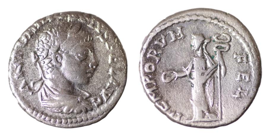 Ancient Coins - ELAGABALUS 218-222 AD. DENARIUS