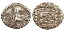 Ancient Coins - Parthian Kingdom. Vologases III. Ca. A.D. 105-147. AR drachm