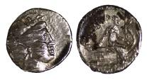 Ancient Coins - EUBOIA HISTIAIA 340-330 BC AR Tetrobol