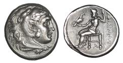Ancient Coins - Kingdom of Macedon Philip III Arrhidaios AR Drachm XF\UNC / Greek Coins