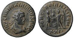 Ancient Coins - Maximianus First reign AD 286-305 AE antoninianus UNC